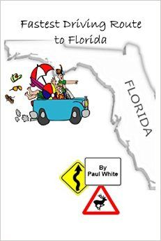 Hold a copy of this informative travel guide in your hands as you drive to Florida. A road trip that provides you with a detailed route that is guaranteed to get you to your vacation or retirement destination in Florida faster, and therefore, cheaper than if you take any other driving route to Florida from the eastern United States and Canada. See more - http://amzn.to/1tcEjzm
