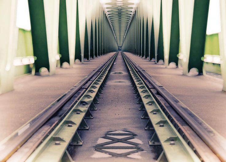 I'm on track by Bodó Miklós #conceptualphotography #photography