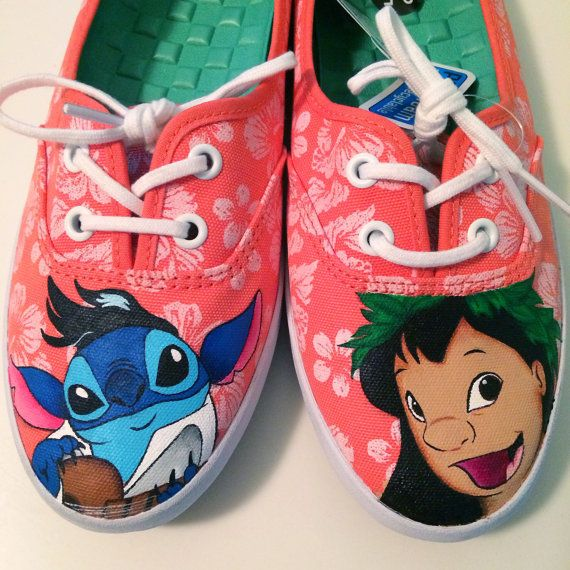 Hey, I found this really awesome Etsy listing at https://www.etsy.com/listing/195812839/custom-order-lilo-stitch-hand-painted