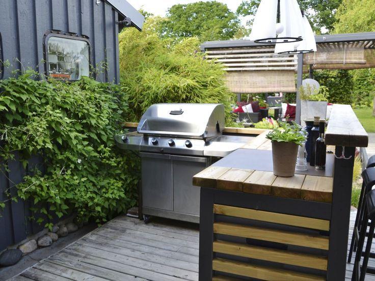 Was ist beim Bau einer Outdoor-Küche zu beachten
