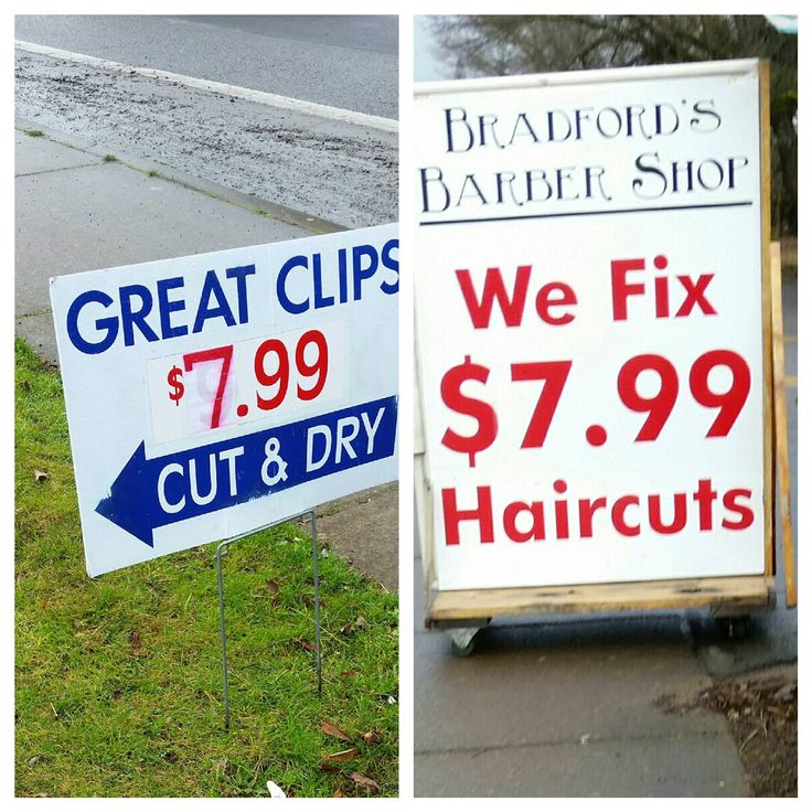 Shots fired by the local Barber shop. - Funny, Humor, LOL, meme