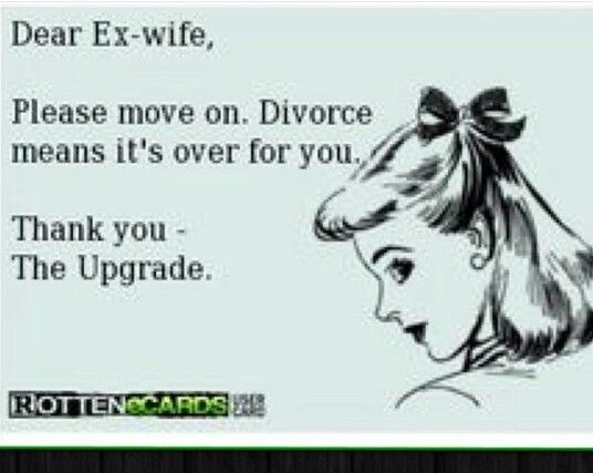 how to let go of your ex husband