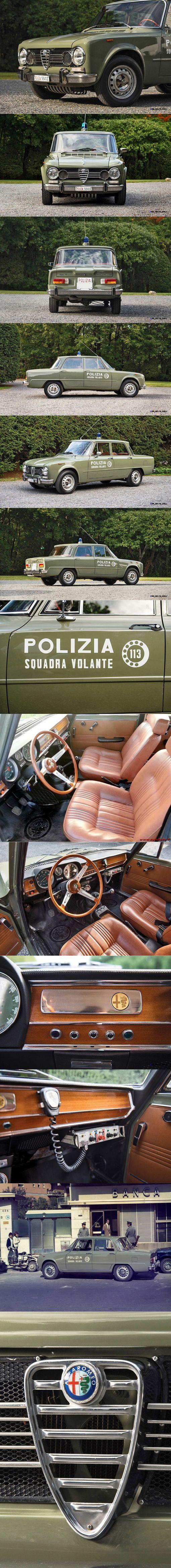1966 Alfa Romeo Giulia Super Squadra Volante / Italian Police