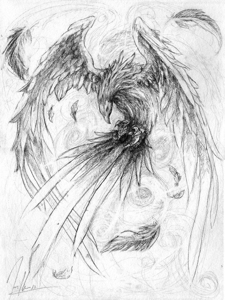 Phoenix by ~HerrMagermilch on deviantART