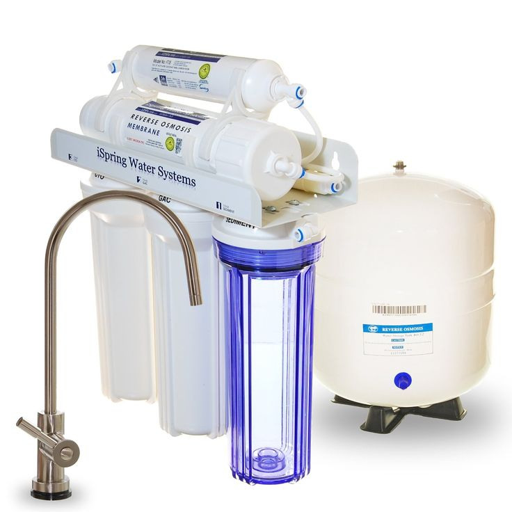 ispring rcc7 wqa gold seal 5 stage 75 gpd reverse osmosis water filter http - Reverse Osmosis Water Filter