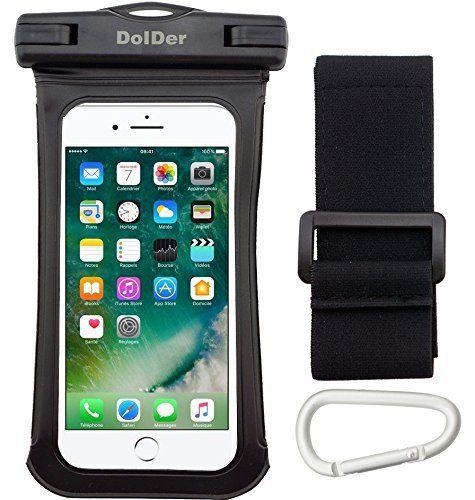 Schone Info Dolder Premium Wasserdichte Armbandtasche Handyhulle Tasche Mit Side Window Mountain Clip Armband Fur Ipx8 Tief B Iphone Apple Iphone