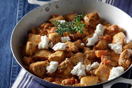 Τηγανιά κοτόπουλου με φέτα - Συνταγές | γαστρονόμος