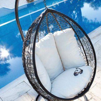 les 25 meilleures id es de la cat gorie loveuse suspendue sur pinterest chaise hamac d. Black Bedroom Furniture Sets. Home Design Ideas