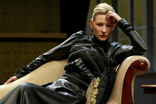 Cate Blanchett as Hedda Gabler in the 2004 Sydney Theatre Company production.
