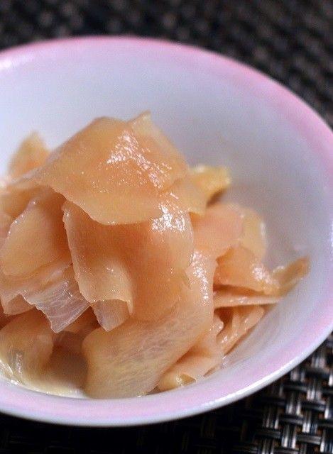ガリ♪(新生姜の甘酢漬け) by クッキングSパパ [クックパッド] 簡単おいしいみんなのレシピが249万品