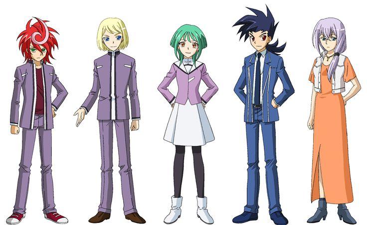 Draw The Trigger • kawaii-wingal: Cardfight!! Vanguard G Characters...