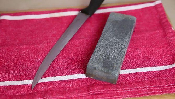 Cómo afilar un cuchillo
