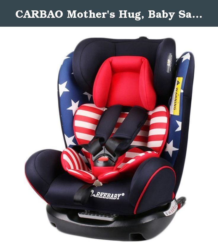 CARBAO Mother's Hug, Baby Safety Car Seat Adjustable for 0-12Y Kids, Safer and More Comfortable (Captain America). Our products have been certified by ECE and CCC in Europe. Positive and negative bi-directional installation design, providing more comfortable choice for the children of 0-12 years old. Reverse installed extra large 165 degrees lying angle, simulated mother's embrace, let your baby sleep more comfortable and more sweet. (For 0-1 year old baby, please be sure to reverse the...