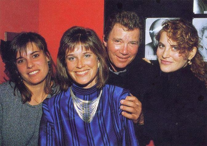 William Shatner and his daughters | William Shatner | Pinterest