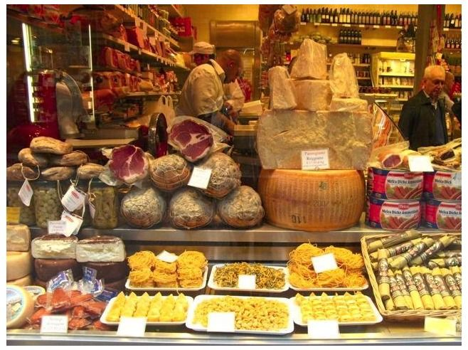 Mercato Bologna - shopping tips for foodies in Bologna (click for article)