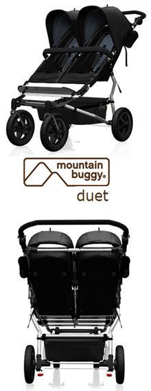 Baby Gizmo Spotlight Review:  Mountain Buggy Duet Stroller