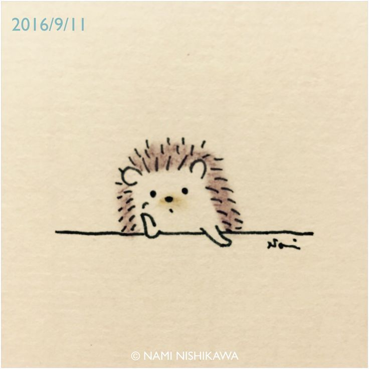 Image result for easy to draw cartoon hedgehog