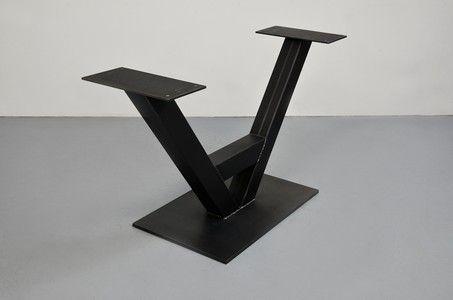 Tischuntergestell V-Engineered aus Stahl