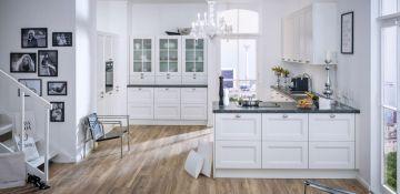 Kuchyně Lucia bílá hedvábný mat  #Provencekuchyne #kitchen #kuchynenamiru #modernikuchyne