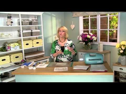 Crafting My Style With Sue Wilson - Embossed Paper Grouting Technique For Creative Expressions - YouTube