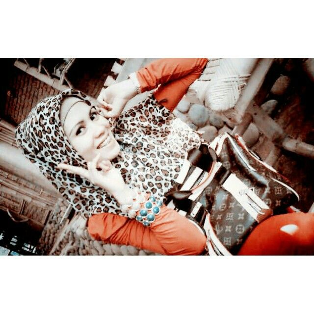 Orange#hijab#photoshoot