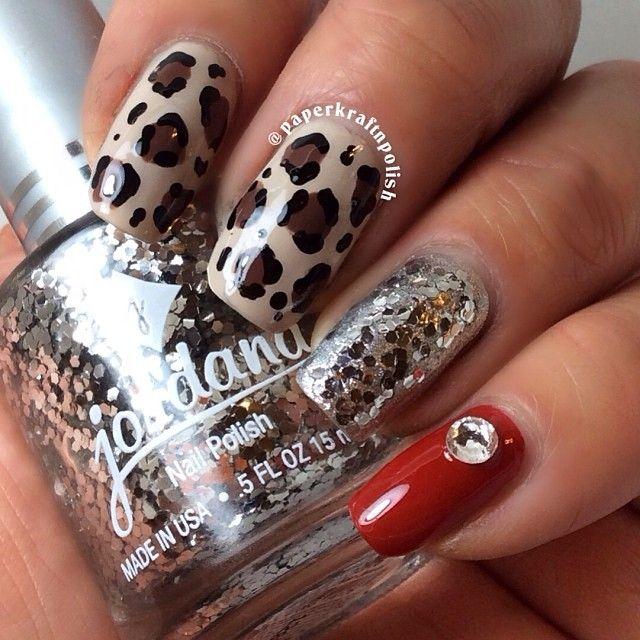 Instagram photo by paperkraftnpolish #nail #nails #nailart