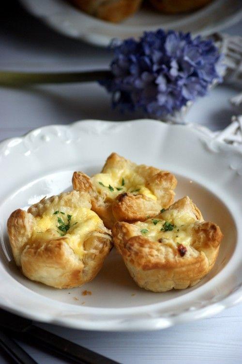 Levelestészta-muffin tormás töltelékkel recept