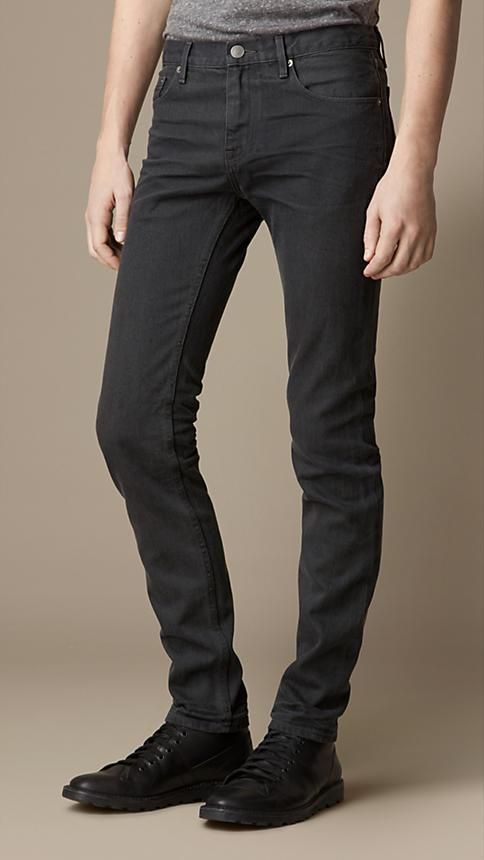 Burberry Brit Shoreditch Sulphur Dyed Skinny Fit Jeans