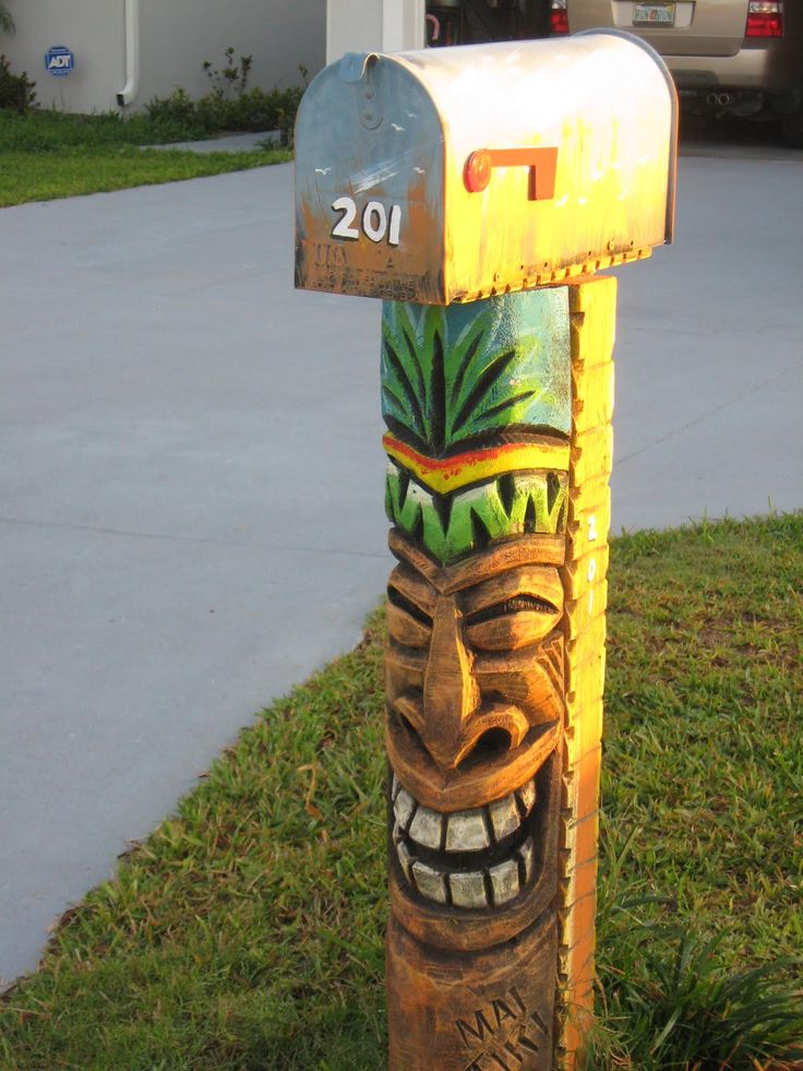 I LOVE this mail box!