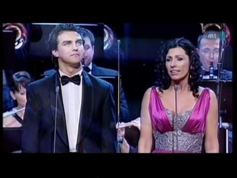 Miklósa Erika & Dolhai Attila - Time to Say Goodbye - YouTube