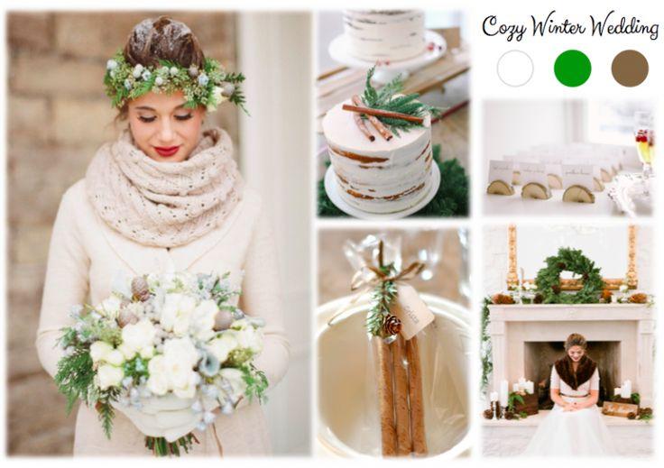 Inspiration Board: Cozy Winter Wedding