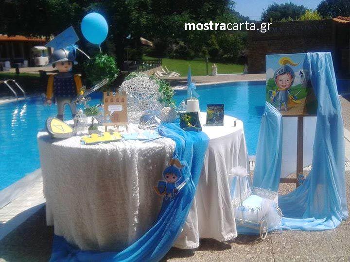 στολισμός βάπτισης τραπέζι ευχών