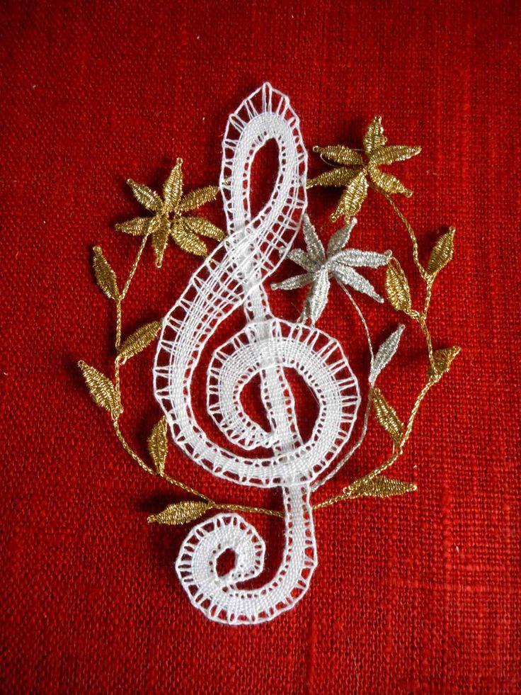 houslový+klíč+Paličkovaný+houslový+klíč.