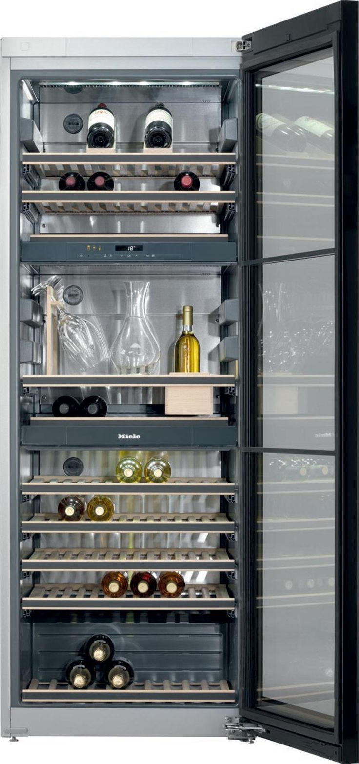 The Best New Appliances of 2015 - Miele free-standing wine refrigerator
