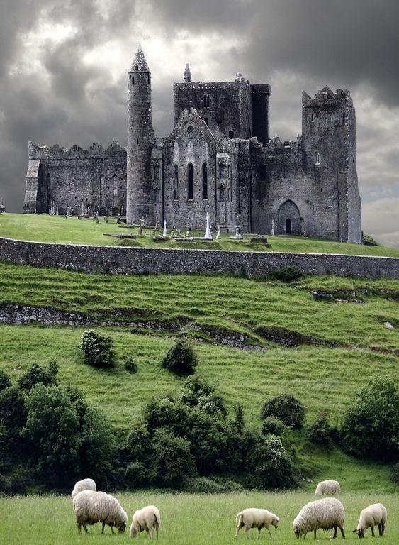 The Rock of Cashel,Ireland: