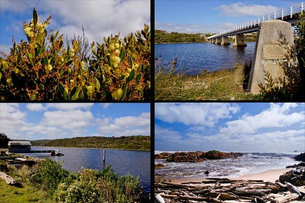 Edge of the World: Walk on the Wild Side  Arthur River view on the north west coast of Tasmania