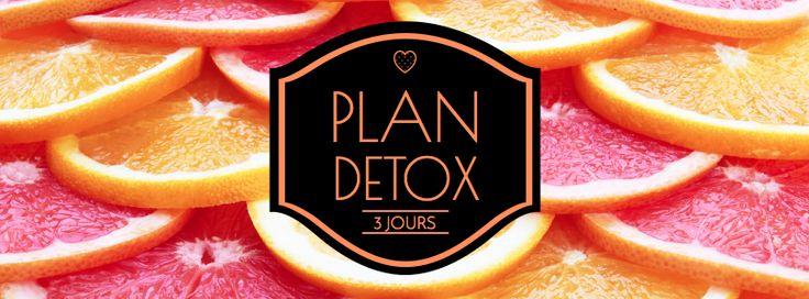 Plan DETOX 3 jours ‹ Valerie Orsoni, coach, auteur, experte en nutrition