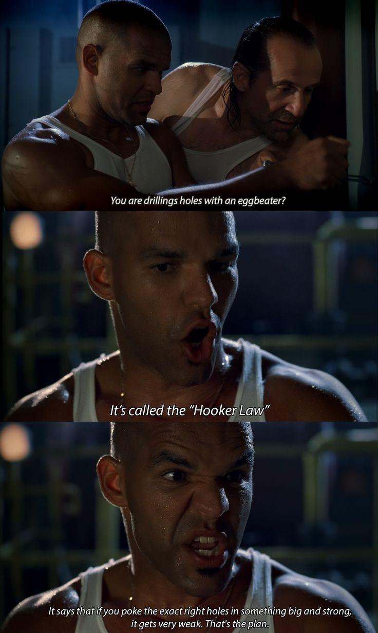 Hooker Law (Hooke's law of Elasticity).. Lmao.. :D Oh Sucre. Prison Break.