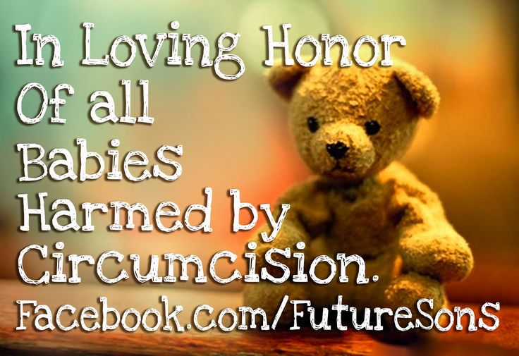 Saving Our Sons Repeat Circumcision Lessons Learned From