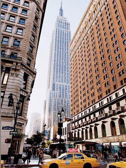 New York City skyscrapers.