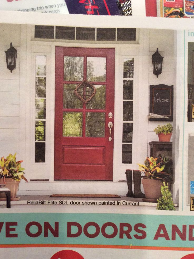 ReliaBilt Elite SDL door shown in Currant - Lowes flyer 10/8/15 - looks like the glass is Frosted for privacy.  Frosted isn't the correct description - it looks stained glass like.