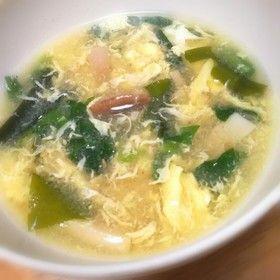 秘密はオイスターソース♪簡単!中華スープ