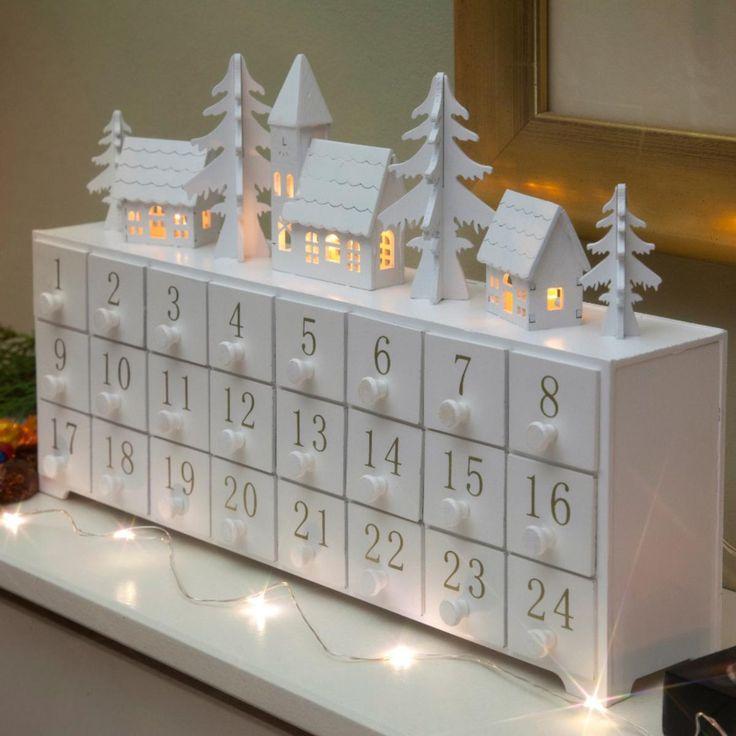Advent Calendar Village Diy : Best indoor christmas lights ideas on pinterest