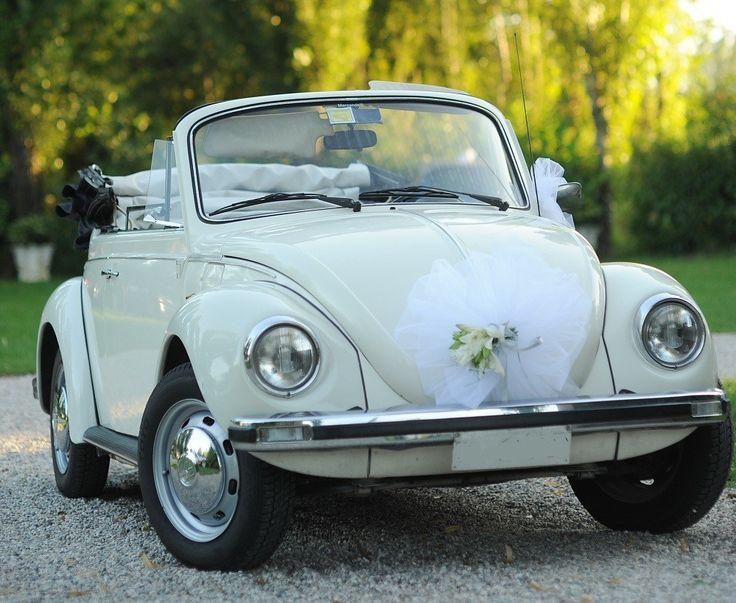 #wedding #auto #sposi #matrimonio #maggiolino #maggiolone #cabrio