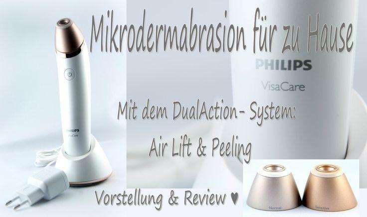 VisaCare von Philips, Mikrodermabrasion für zuhause, Vorstellung und Review