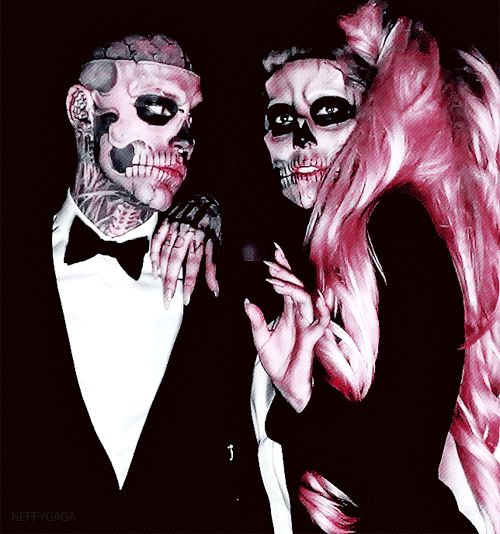Lady Gaga (Born This Way)// still in love with this.