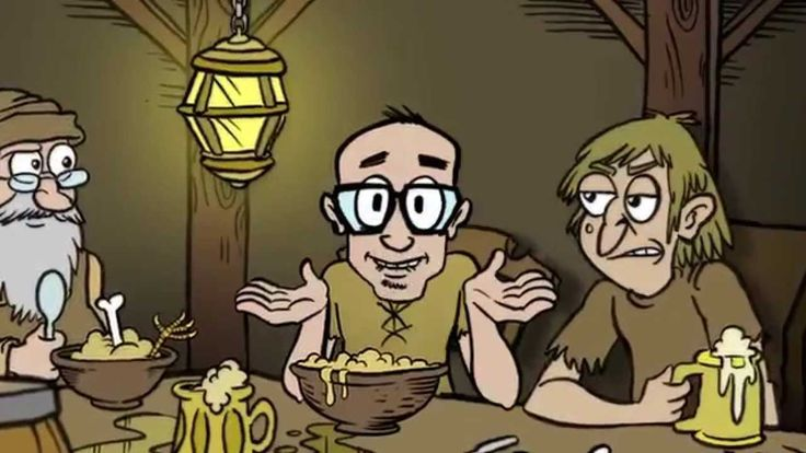 'Shudders', An Animated Music Video by MC Frontalot Featuring a Haunted Medieval Castle