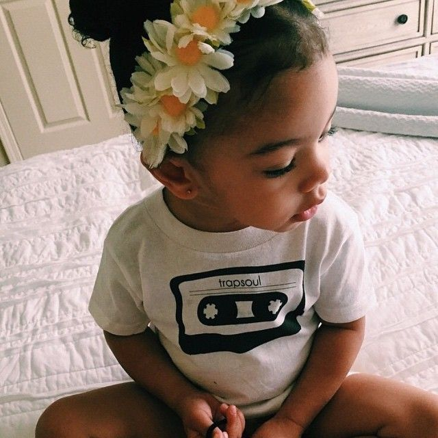 Follow me on pinterest: @ BaLLinISMyH0BBy Bryson Tiller's daughter