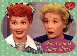 I Love Lucy and Ethel