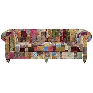 I want this sofa! and me, boho chic would go with anything